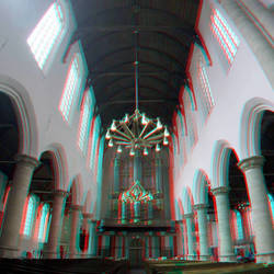 Oude Kerk Delft 3D GoPro