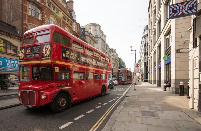 Londen - Fleetstreet - Londen - Fleetstreet