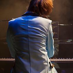 Pianist Len van der Laak, concert Erwin Nyhoff