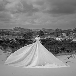 Spirit of the dunes (B&W)