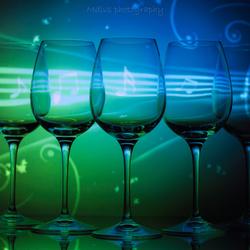 Muziek in een glas