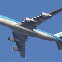 PH-BFE  KLM Boeing 747-406M