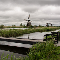 Kinderdijk from another perspective