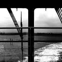 achter de boot