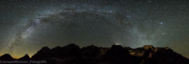 """Milkyway mountains - Melkwegpanorama bij de Dachstein <img  src=""""/images/smileys/tongue.png""""/> M&#039;n eerste poging"""