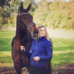Winanda en haar mooie paard