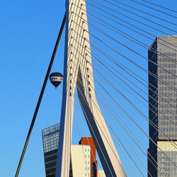 Ballonvaart boven Rotterdam - 1