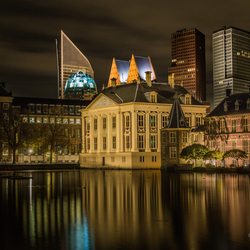 The Hague by Night, Mauritshuis