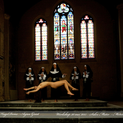 Art nude by the nuns