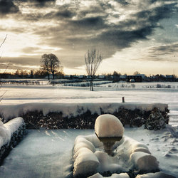 Winterpanorama.