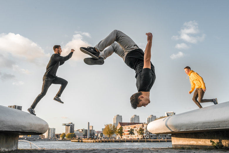 Hangin' Out - De geweldige freerunners van  @snapmasters aan het werk tijdens de @zoomnl &amp; @transcontinenta Tamron testdag van 29 oktober 2019.<br