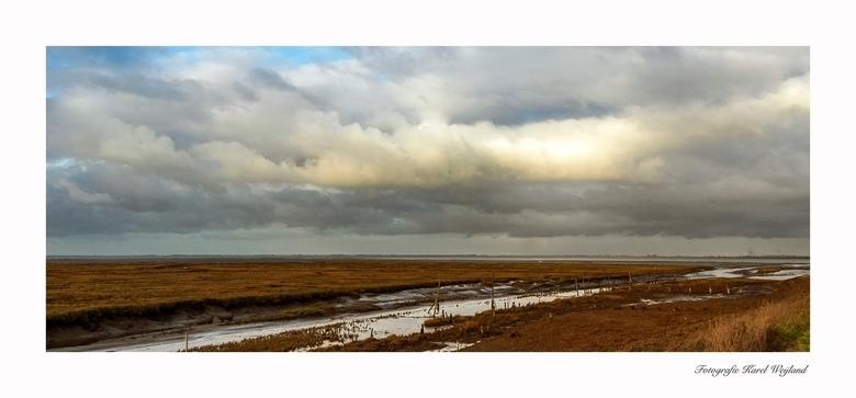 Rattekaai - Even door de polder. Gr. Karel