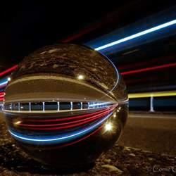 Straatfoto lensball