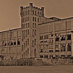 oude textielfabriek Gronau
