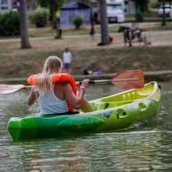 Rondje in de kano