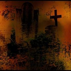 The heat on cemetery
