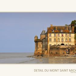 Detail du Mont Saint Michel.