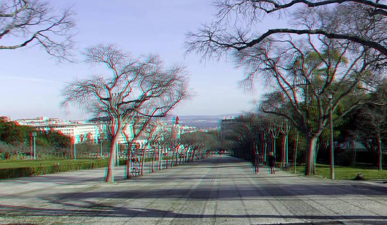 Lissabon Portugal 3D - Lissabon Portugal 3D stereo red/cyan