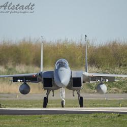 F-15 Eagle USAF ANG Redhawks