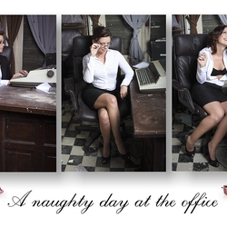 A naughty day at the office