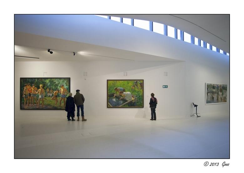 Assen - Drents museum 31 - Ander stukje van de grote zaal.