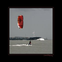 Kite surfing 6