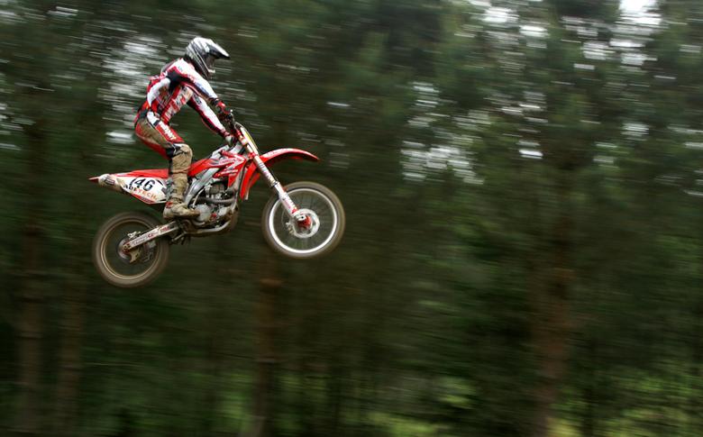 motorcross - motor airborne