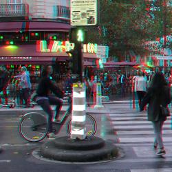 Boulevard Montparnasse Paris 3D