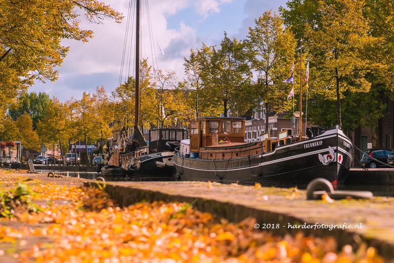 Herfst in Meppel - Herfst langs de Heerengracht en Keizersgracht.