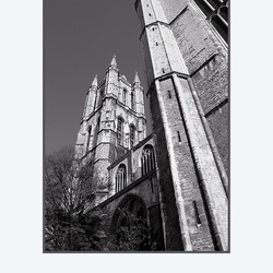 kathedraal in perspectief