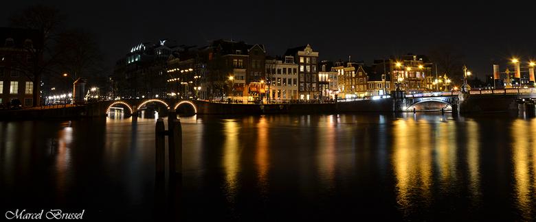 amsterdam by night  - nacht fotografie in Amsterdam.