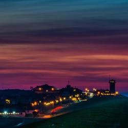 Icecold sunset at Den Helder.
