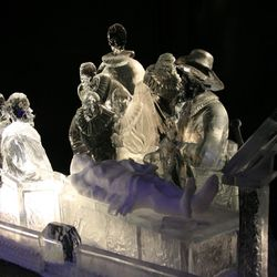 IJs sculpturen
