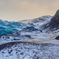 Sólheimajökull glacier, Iceland