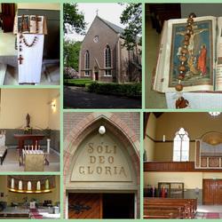 Interieur v.m. RK Kerk i Veenhuizen (Dr.)