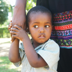 Little boy from Kenya
