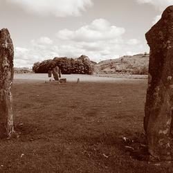 Schotland 15  Kilmartin Glen Dalriada Standing Stones.