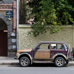Lada in Sint-Petersburg