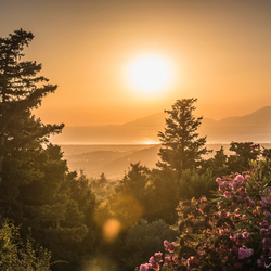 Zonsondergang Zia Kos Griekenland