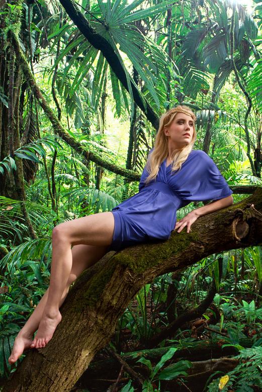 jungle lieke - Een photoshop grapje met model Lieke Verberkt<br /> mua Anne-marie Lemmen