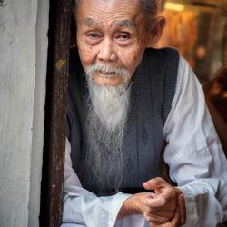 Bejaarde Vietnamees