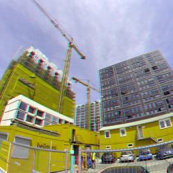 nieuwbouw Katendrecht Rotterdam 3D GoPro