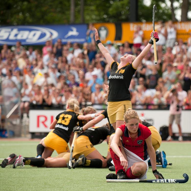 Verliezen is zuur. - Hockeyclub Den Bosch scoort op 4 juni de Golden Goal in finale tegen Laren en is landskampioen 2010-2011.