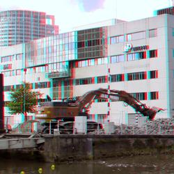Sloop Grote Wijnbrug Rotterdam 3D