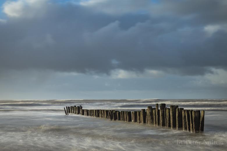 storm op komst in Noord-Holland -