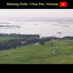 panorama mekong delta - vietnam
