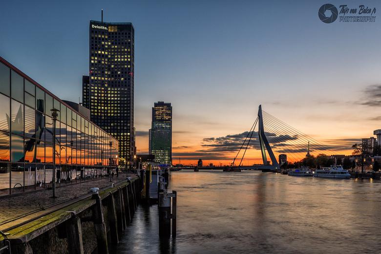 Sunset @ Rotterdam 16-10-2020 - Sunset @ Rotterdam