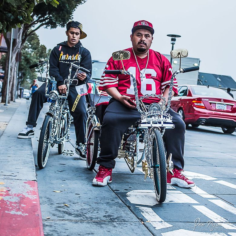 San Francisco bikers -