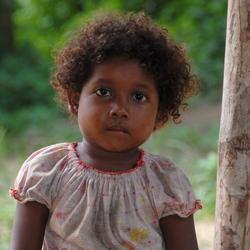 Het Orang Asli meisje