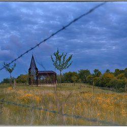 doorkijkkerkje binnen lijnen